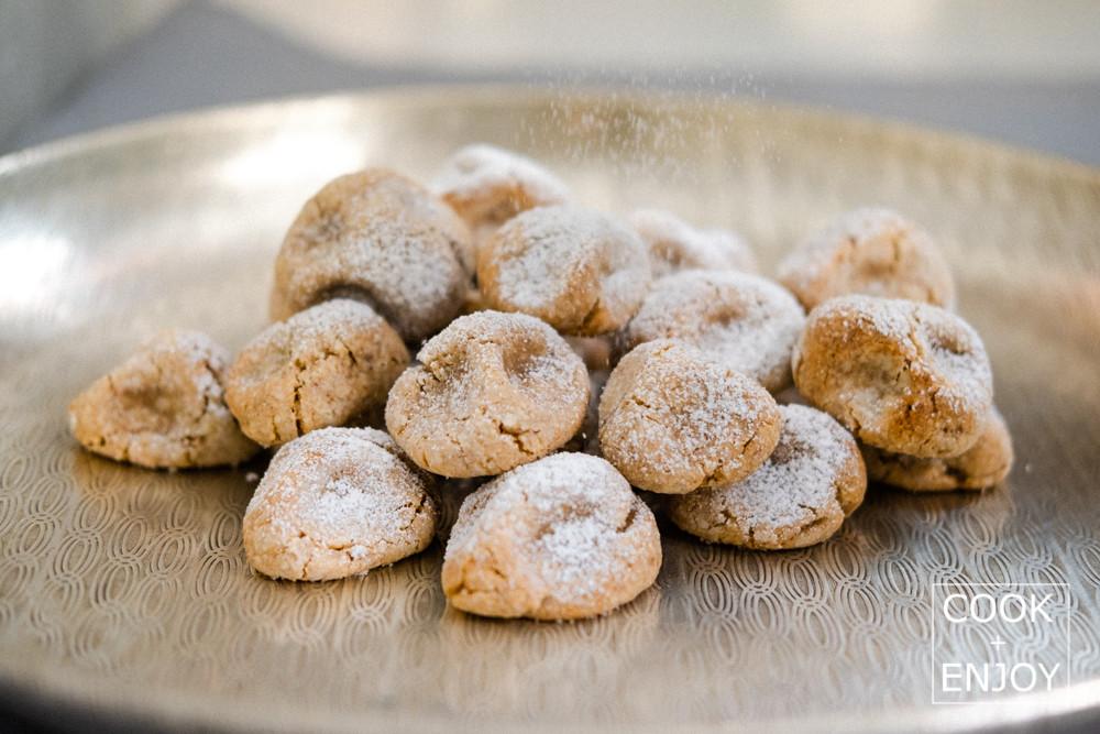 Italienisches COOK and ENJOY Rezept Mandelgebäck – Pasticcini di Mandorla
