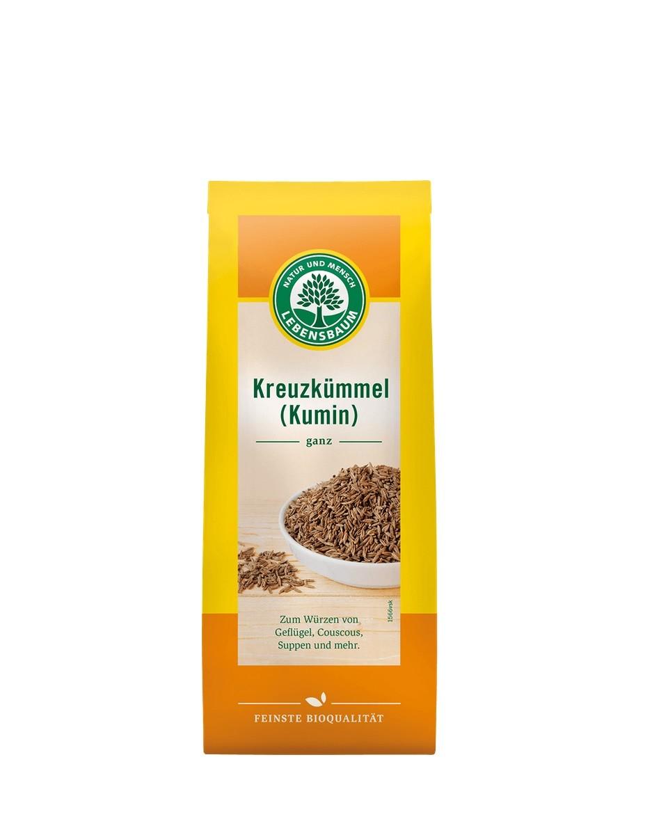 COOK and ENJOY Shop Lebensbaum Lebensbaum Kreuzkümmel (Kumin), ganz 40g BIO