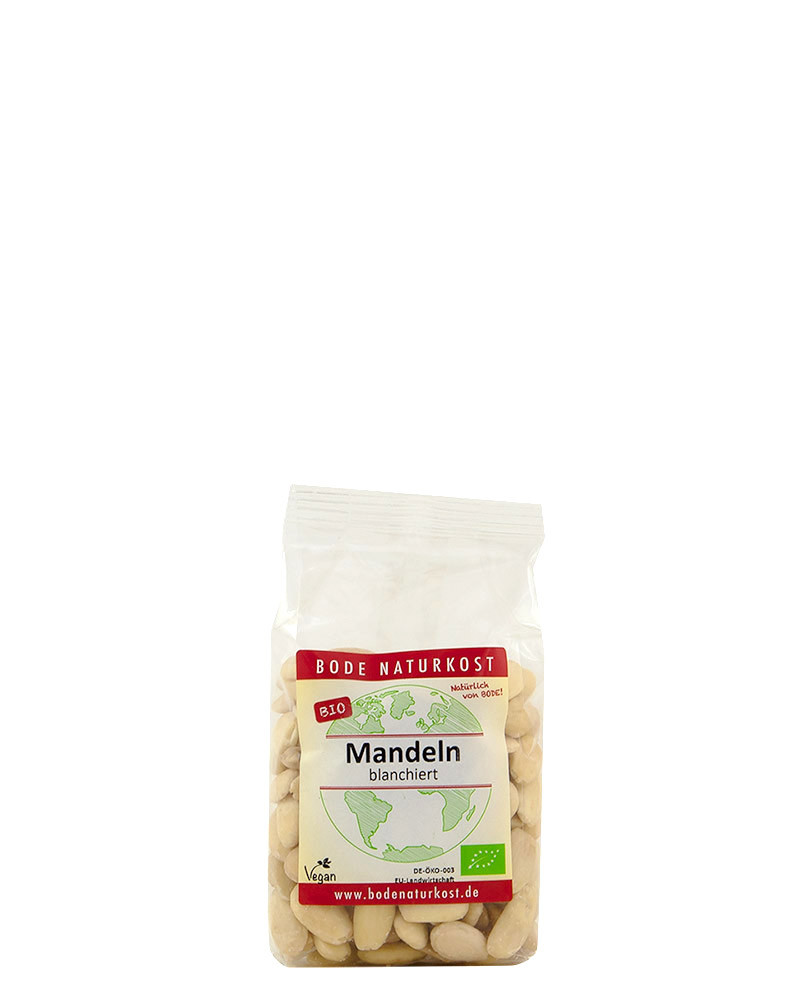 COOK and ENJOY Shop Bode Naturkost Mandeln blanchiert Bio 200g