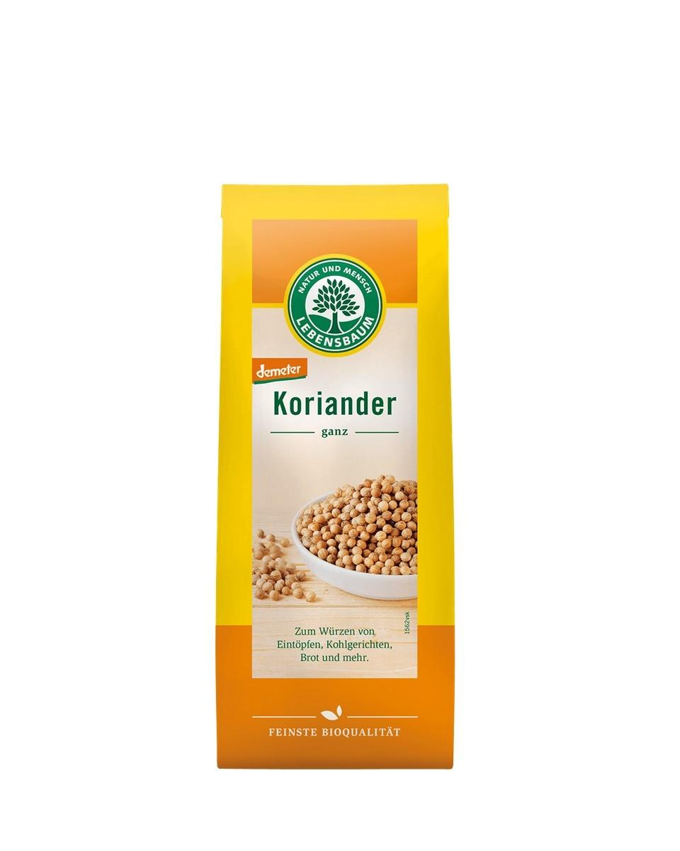 COOK and ENJOY Shop Lebensbaum Koriander, ganz 30g | BIO