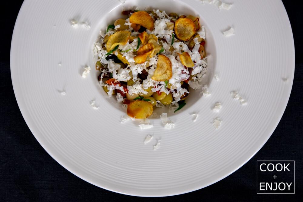 COOK and ENJOY Rezept Limabohnen mit Artischockenherzen und halbgetrockneten Tomaten