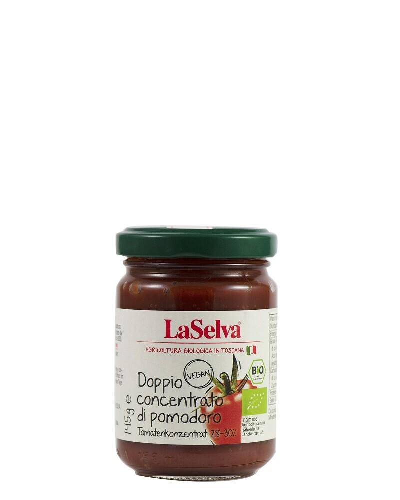 COOK and ENJOY Shop LaSelva Tomatenmark doppelt konzentriert 28-30% 145g BIO