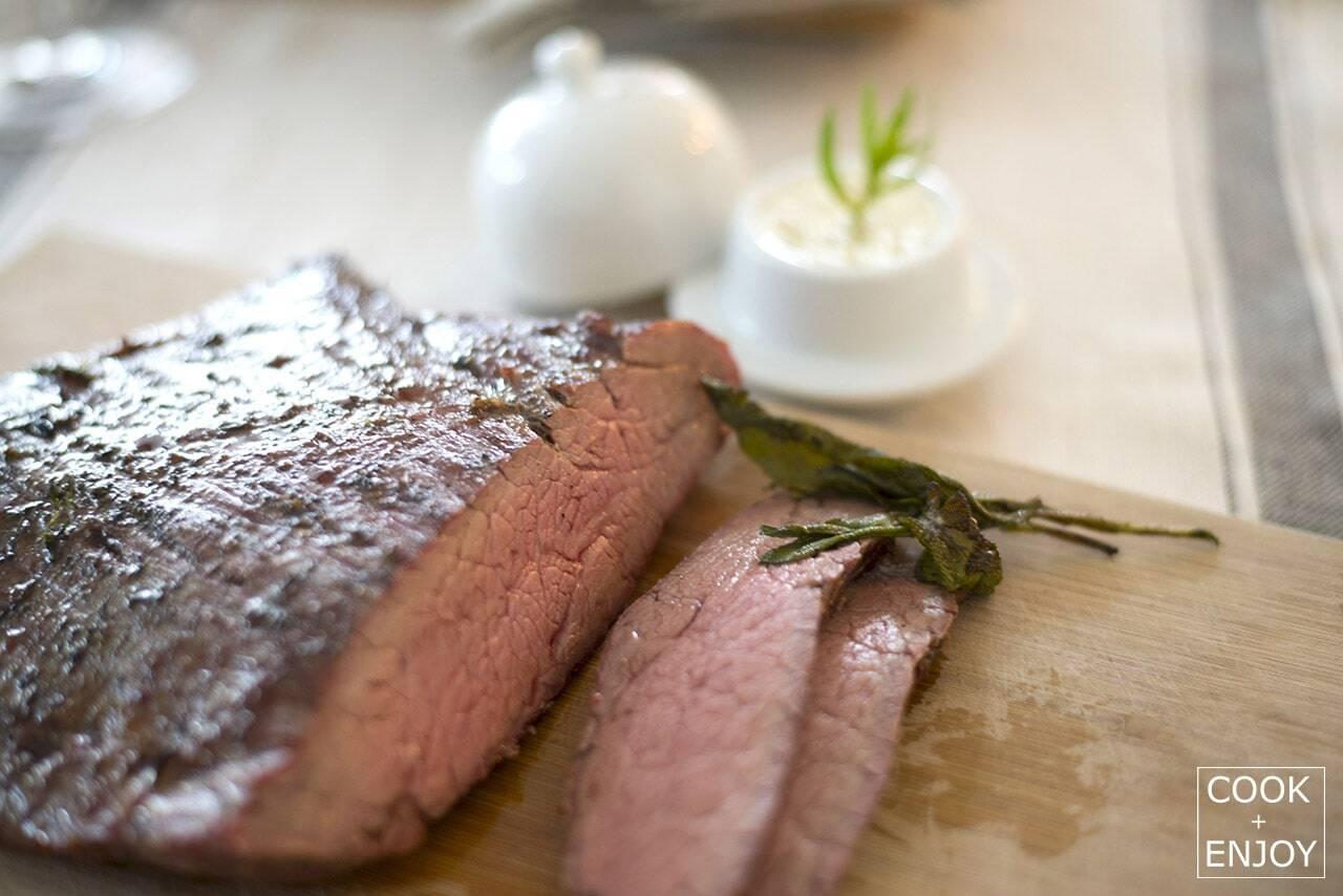 COOK+ENJOY Rezept Flank Steak