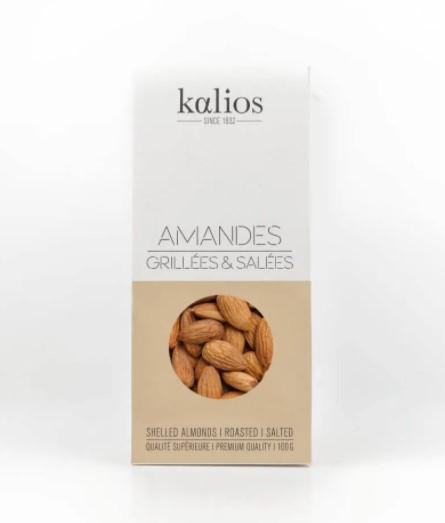 COOK+ENJOY Shop Kalios Geröstete und gesalzene Mandeln 100g