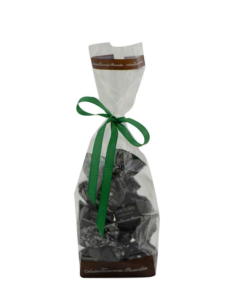 COOK and ENJOY Shop Tartufi dolci extranero Antica Torroneria Piemontese Schokoladentrüffel Beutel